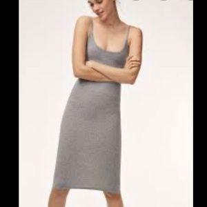 Wilfred free kovac dress sz xs grey